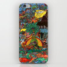 A Land Of Chaos iPhone & iPod Skin