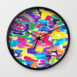 Bright modern youth pattern Wall Clock