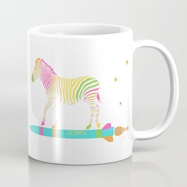 Zebra Rock It 6B Coffee Mug