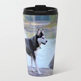 Siberian Husky Max Travel Mug