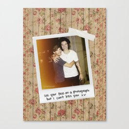Larry Stylinson Canvas Print