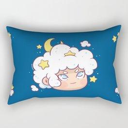 Cloudy Hair Rectangular Pillow