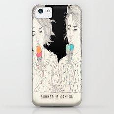 Melting iPhone 5c Slim Case