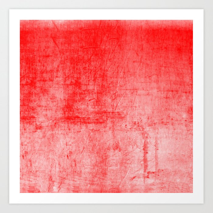 Distressed Coral Textured Canvas Kunstdrucke