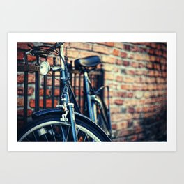 Cruiser in Krakow Art Print