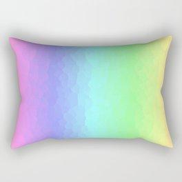 Vertical Pastels Rectangular Pillow