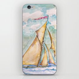 Sail Away iPhone Skin