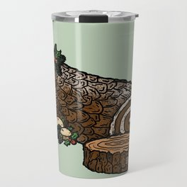 Y is for Yule Log Travel Mug