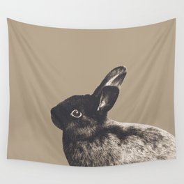 Little Rabbit on Sepia #1 #decor #art #society6 Wall Tapestry