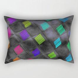 Square Color Rectangular Pillow