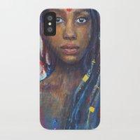 faith iPhone & iPod Cases featuring Faith by Annelie Solis