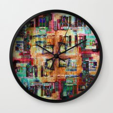 Annecy 4 Wall Clock
