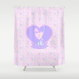 Captain Daddy Shower Curtain