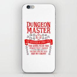 Dungeon Master iPhone Skin