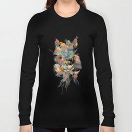 + Watercolor Alpaca + Long Sleeve T-shirt