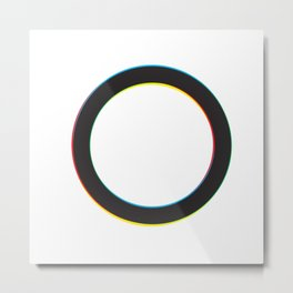 The Outside Circle Metal Print