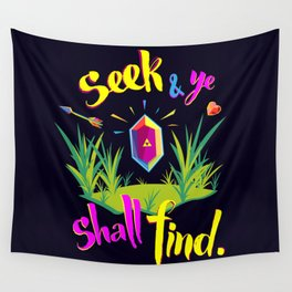 Legend of Zelda Seek and Ye Shall Find Wall Tapestry