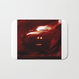 Flaming Alfa Gtv 916 Bath Mat