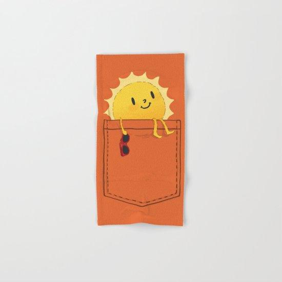 Pocketful of sunshine Hand & Bath Towel