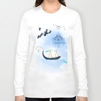 voyage Long Sleeve T-shirts featuring VOYAGE by dirdamal