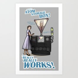 And it really really works! Art Print