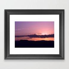 Southwest Sunrise - III Framed Art Print