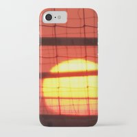 volleyball iPhone & iPod Cases featuring Volleyball by Sierra Christie
