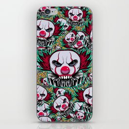Cute Skulls IT iPhone Skin