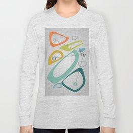 Mid Century Modern Art 01 Long Sleeve T-shirt