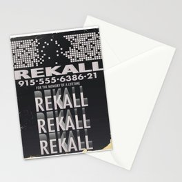Rekall ( Total Recall ) Vintage magazine commercial. Stationery Cards