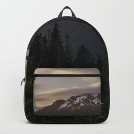Never Stop Exploring - Cascade Sunset Backpack
