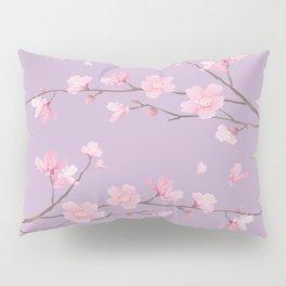 Cherry Blossom - Pale Purple Pillow Sham