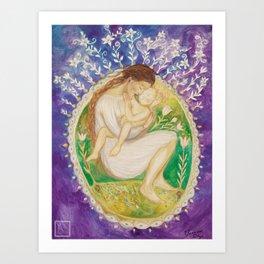 The Adoration Art Print