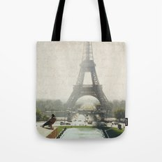 Letters From Trocadero - Paris Tote Bag