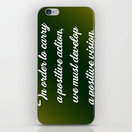 Positive Action iPhone Skin