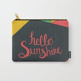 Hello Sunshine - Dark Carry-All Pouch