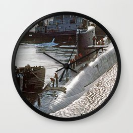 USS FRANCIS SCOTT KEY (SSBN-657) Wall Clock