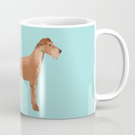 Irish Terrier farting dog cute funny dog gifts pure breed dogs Coffee Mug