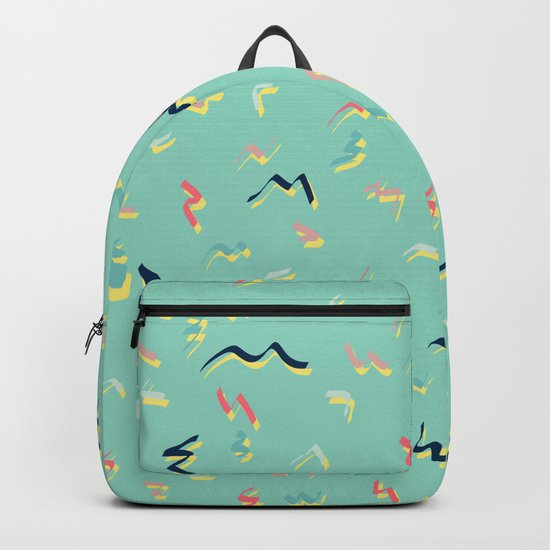 Playful Scribbles #society6 #decor #buyart Backpack