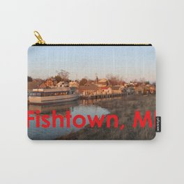 Fishtown -Leland, Michigan - Sunset Carry-All Pouch