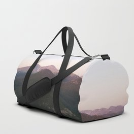 Longs Peak & Estes  Cone from Lily Mountain Duffle Bag