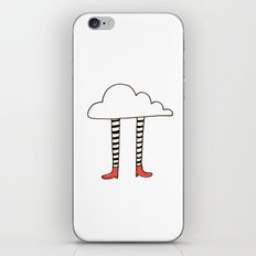 cloudy feet iPhone & iPod Skin
