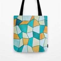 square Tote Bags featuring Square by sinonelineman