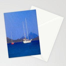 Sailing Ship Art Stationery Cards