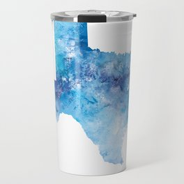 Texas Map Travel Mug