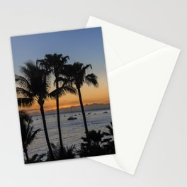 Tropical Paradise Sunset Stationery Cards