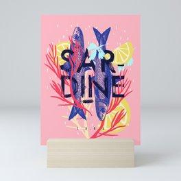 Sardine Mini Art Print