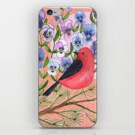 Scarlet Tanager iPhone Skin