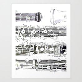 Hautbois Art Print
