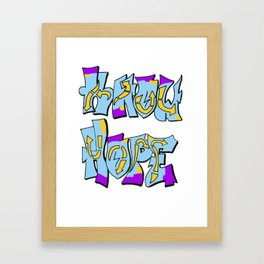 Know Hope Framed Art Print
